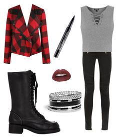 """Untitled #42"" by riasoccer on Polyvore featuring Balmain, Topshop, Dex, Jil Sander, GUESS and Smashbox"