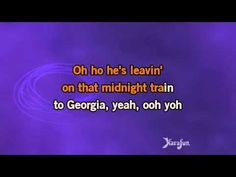 Karaoke Midnight Train To Georgia - Gladys Knight And The Pips *
