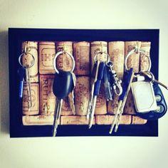 """2,645 kedvelés, 29 hozzászólás – NYC Interior design & deco 🇺🇸🗽 (@interiorfordesign) Instagram-hozzászólása: """"Diy cork board key hanger 😊"""""""