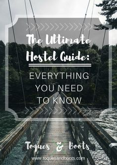 hostel guide