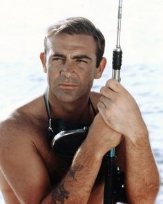Sean Connery in the 1965 James Bond film Thunderball