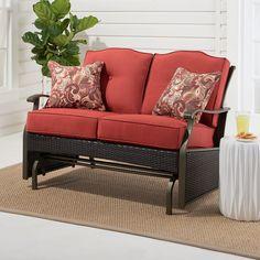 Furniture Gliders, Porch Furniture, Furniture Sets, Outdoor Furniture, Screened Porch Decorating, Screened Porches, Patio Ideas, Porch Ideas, Garden Ideas
