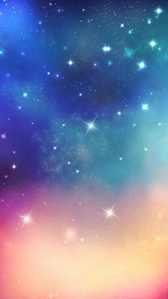 Shiny Fantasy Ouer Space #iPhone #6 #plus #Wallpaper