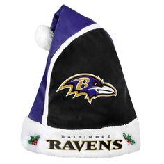 591df1b57 Forever Collectibles Baltimore Ravens 2015 NFL Santa Hat Nfl Football  Teams