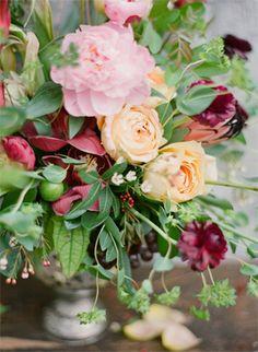 Wedding Ideas: tuscan-rustic-wedding-flowers
