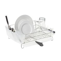 Stainless Steel Deluxe Folding Dish Rack By Oxo