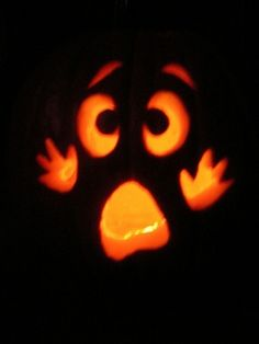 pumpkins carved with drill. The husbands will love...