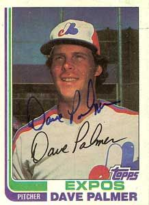 David Palmer threw the first perfect game in expo history, but it don't count, it was only 5 innings Expos Baseball, Baseball Cards, Montreal, Perfect Game, Mlb, Count, David, History, Sports