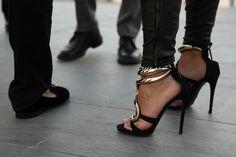 Gold + Heels