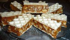 Sastojci 2 lista veće oblande 300 + 300 gr. šećera 250 g. margarina 4 jajeta 350 gr. seckanih oraha Način pripreme Uodgovarajućoj posudi sipati 300 [...]