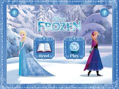It's almost Christmas! How about some new Christmas apps for kids? You'll find santa apps, Christian Nativity stories, and fun games, too. Frozen App, Frozen Movie, Disney Frozen, Frozen Party, Walt Disney, Frozen Story, Apps For Girls, New Disney Movies, Christmas Apps