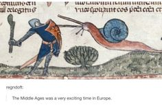 When it hit them how crazy the Middle Ages were. | 26 Times History Was Perfectly Summed Up By Tumblr