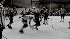 You Should Be Watching More Roller Derby Footage | All about control!