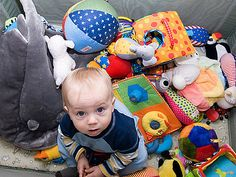 """Toys, toys and more toys! How many toys do your kids really need?What rules can you put in place to keep the kids and the house from being overwhelmed?It's all part of """"Toy Overload,"""" and it's being discussed in many Circle of Moms"""