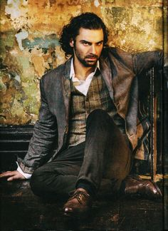 """Aidan Turner for """"Radio Times"""" - (photo by Sarah Dunn). It's just not fair that he's so handsome, his brooding gaze makes me weak at the knees and this is just a photo. Guys this hot should be sent to me, so I can Deal with them! Poldark 2015, Ross Poldark, Poldark Cast, Demelza Poldark, Aiden Turner, Will Turner, Sarah Dunn, Divas, Moda Masculina"""