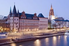 10 Exciting European Destinations You Need To Visit For A Crowd-Free Vacation - Page 8 of 11 - Travel and advice Pro : Frankfurt, Germany German Architecture, Jewish Museum, Frankfurt Germany, Free Museums, The Cloisters, Free Vacations, Travel Icon, Main Attraction, European Destination