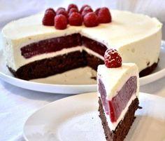Šťavnatá malinová torta ako z rozprávky