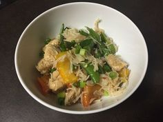 Filipino-inspired noodle stir-fry