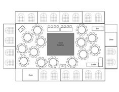 Wedding Reception table layout For 100 guests, 8 per table = tables = 13 TO. Wedding Reception table layout For 100 guests, 8 per table = tables = 13 TOTAL plus head table Reception Table Layout, Wedding Table Layouts, Reception Seating Chart, Wedding Reception Seating, Seating Chart Wedding, Wedding Table Settings, Seating Charts, Wedding Menu, Table Seating