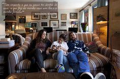 Open house - Alessandro Bergamin. Veja: http://www.casadevalentina.com.br/blog/detalhes/open-house--alessandro-bergamin-3055 #decor #decoracao #interior #design #casa #home #house #idea #ideia #detalhes #details #openhouse #style #estilo #casadevalentina #livingroom #saladeestar
