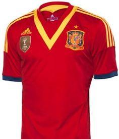 Se presenta nueva playera de España para la Confederaciones 2013