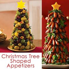 The BEST Christmas Appetizers for a holiday party. Savory fun food recipes that wow! Cute Santa, snowman, wreaths and Christmas tree appetizer ideas. Best Christmas Appetizers, Christmas Tree Food, Holiday Party Appetizers, Cold Appetizers, Christmas Snacks, Appetizer Ideas, Party Dips, Party Snacks, Diy Christmas