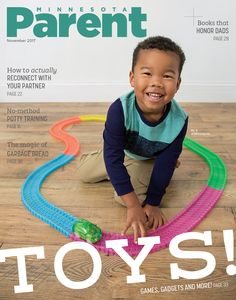 Check out our adorable #coverkid for November — Ali, 3, of Minneapolis. He was a dream during our #toytest #photoshoot!