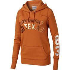 Victoria's Secret PINK Texas Longhorns Women's 1883 Pullover Hooded Sweatshirt