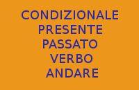 10 FRASI CON IL CONDIZIONALE PRESENTE E PASSATO DEL VERBO ANDARE IN ITALIANO