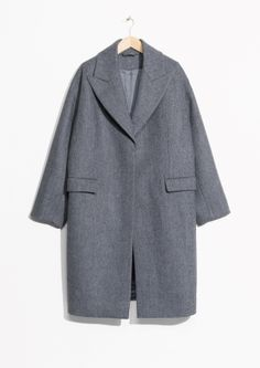 & Other Stories | Wool Blend Oversized Coat
