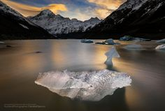 Photograph * * * Break some ice * * * by Danskie Dijamco on New Zealand Landscape, Sunset Landscape, Beat The Heat, My Images, Summer Time, Mount Everest, Beats, The Good Place, Sunrise