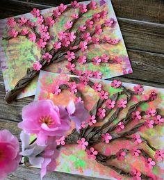 Поделки и игры для детей How To Make Paper Flowers, Paper Flowers Craft, Paper Crafts, Spring Projects, Spring Crafts, Butterfly Crafts, Flower Crafts, Diy Crafts For Kids, Art For Kids