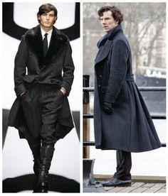 Benedict Cumberbatch Sherlock Holmes Belstaff Millford Coat 2