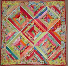 Oxford Impressions: Baby String Quilt Jenean Morrison Free Spirit California Dreamin'
