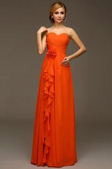 Bridesmaid Dresses Burnt Orange