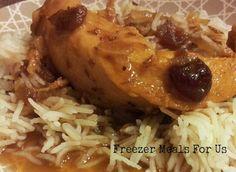 Cranberry Chicken Dump freezer meal