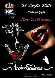 Giglio Island - La Noche Escabrosa Vol.2 - 27 Luglio 2012