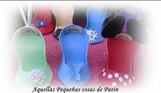 Zapatos en goma eva fantasia