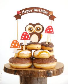 Woodland Birthday Party Printables Supplies & Decorations