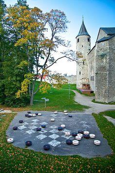 Haapsalu Bishop's Castle ♡ #VisitEstonia #ColourfulEstonia