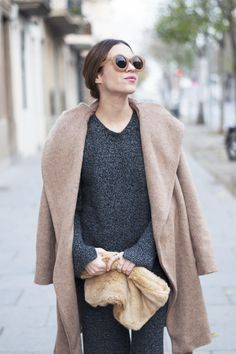 blush pink winter coat