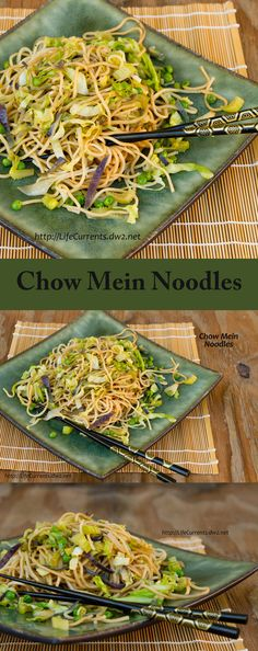 Chow Mein Noodles make them at home instead of getting take out. They taste better and they're better for you!