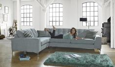 The Demurez model will transform any living space into somewhere extra special. It has a clean, sharp design with stylish chrome feet to cre. Corner Sofa Sofology, Oak Framed Extensions, Living Spaces, Living Room, Open Plan Living, Fabric Sofa, Leather Sofa, Sofa Bed, Lounge