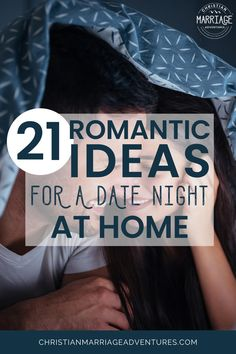 Want to make your marriage fun again and put the spark back in your relationship? Discover how easy and fun it is to have a date night at home. Plus, this ultimate list of at home date nights is a great way to rekindle the romance in your relationship! || Christian Marriage Adventures #marriage #christianmarriage #datenight #athomedatenight #christianmarriageadventures