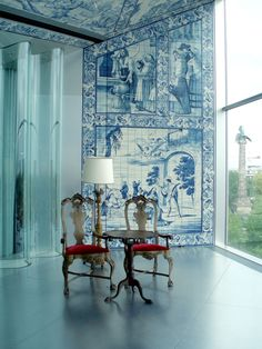 Casa da Musica - OPorto,tiles and modernity , Portugal