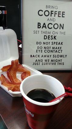 Morning Routine - http://dashburst.com/humor/morning-routine/