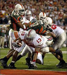 2002 National Champions: Maurice Clarett scores the game winning touchdown the second overtime