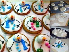 Creative Ideas - DIY Adorable Melted Snowman Cookies | iCreativeIdeas.com Follow Us on Facebook --> https://www.facebook.com/iCreativeIdeas
