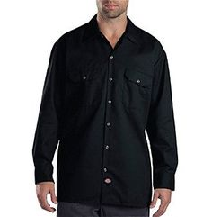 Dickies Men's Big & Tall Long Sleeve Work Shirt