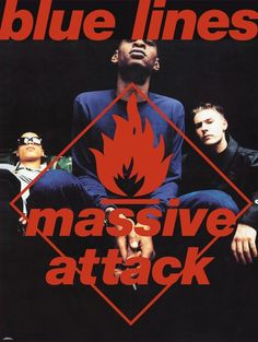 Official promo photo taken by Jean-Baptiste Mondino for Massive Attack's debut album, Blue Lines. Included as a poster in the limited edition reissue of the album in Massive Attack, Music Flyer, Pochette Album, Trip Hop, Great Albums, Poster Layout, Sing To Me, Cards For Friends, Music Lovers